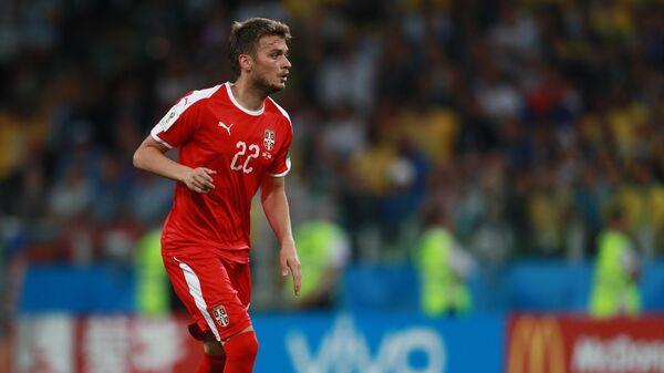 Сербский футболист Адем Ляич