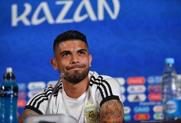 Хавбек сборной Аргентины Эвер Банега