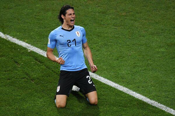 Уругвайский нападающий Эдинсон Кавани