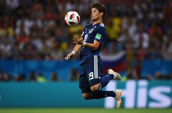 Японский защитник Хироки Сакаи