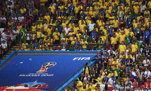 Футбол. ЧМ-2018. Матч Бразилия - Бельгия