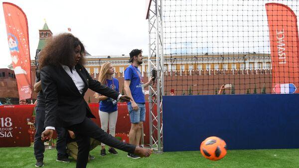 Генеральный секретарь FIFA Фатма Самура