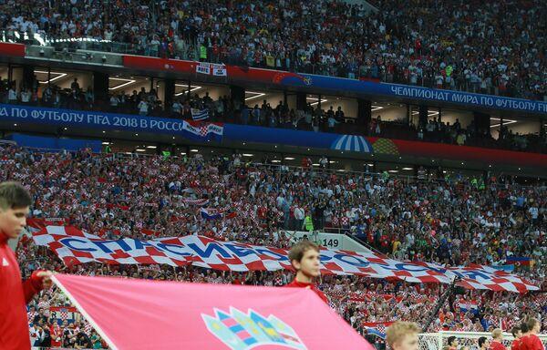 Футбол. ЧМ-2018. Матч Хорватия - Англия. Архивное фото