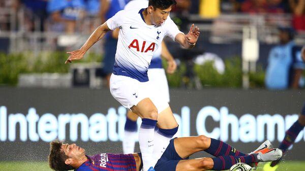 Матч Международного кубка чемпионов Барселона - Тоттенхэм