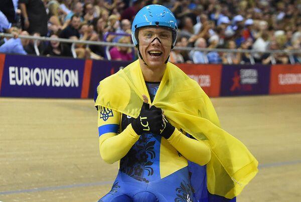 Украинский велогонщик Роман Гладыш