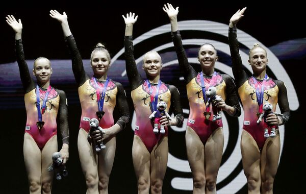 Женская сборная России по спортивной гимнастике