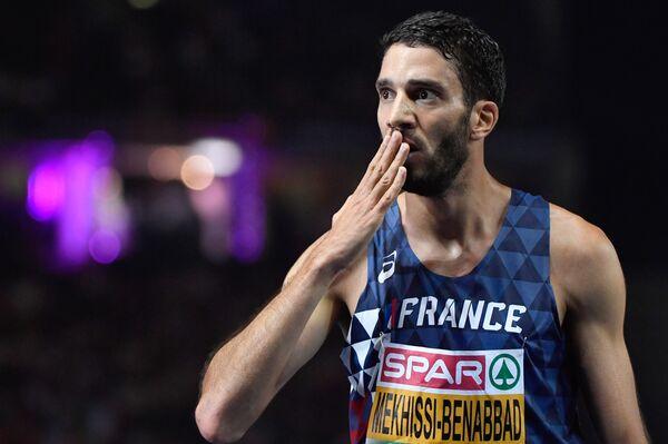 Французский легкоатлет Махидин Мехисси-Бенаббад