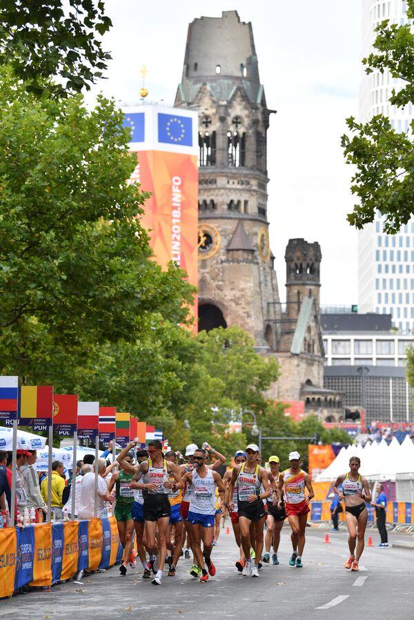 Соревнования по спортивной ходьбе на чемпионате Европы по летним видам спорта