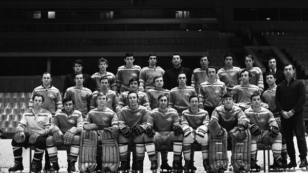 Спартак - серебряный призер чемпионата СССР по хоккею 1973 года