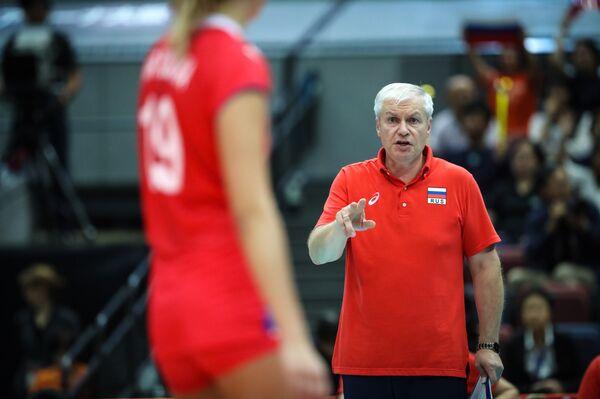 Главный тренер женской сборной России по волейболу Вадим Панков
