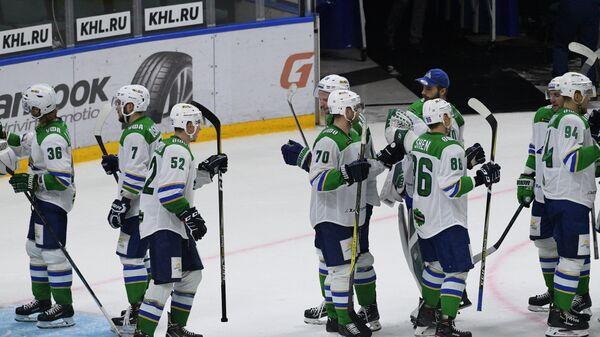 Хоккей. КХЛ. Матч СКА - Салават Юлаев