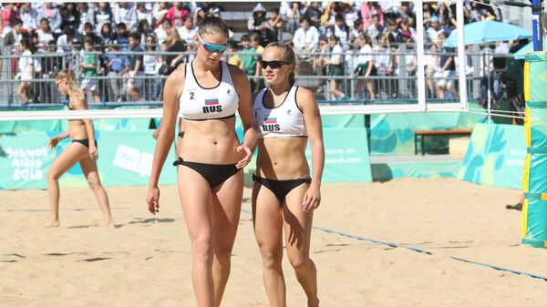 Россиянки Мария Воронина и Мария Бочарова
