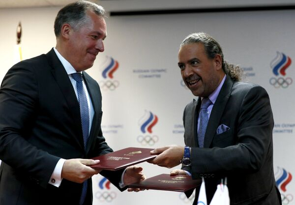 ОКР подписал соглашения с Олимпийской солидарностью МОК