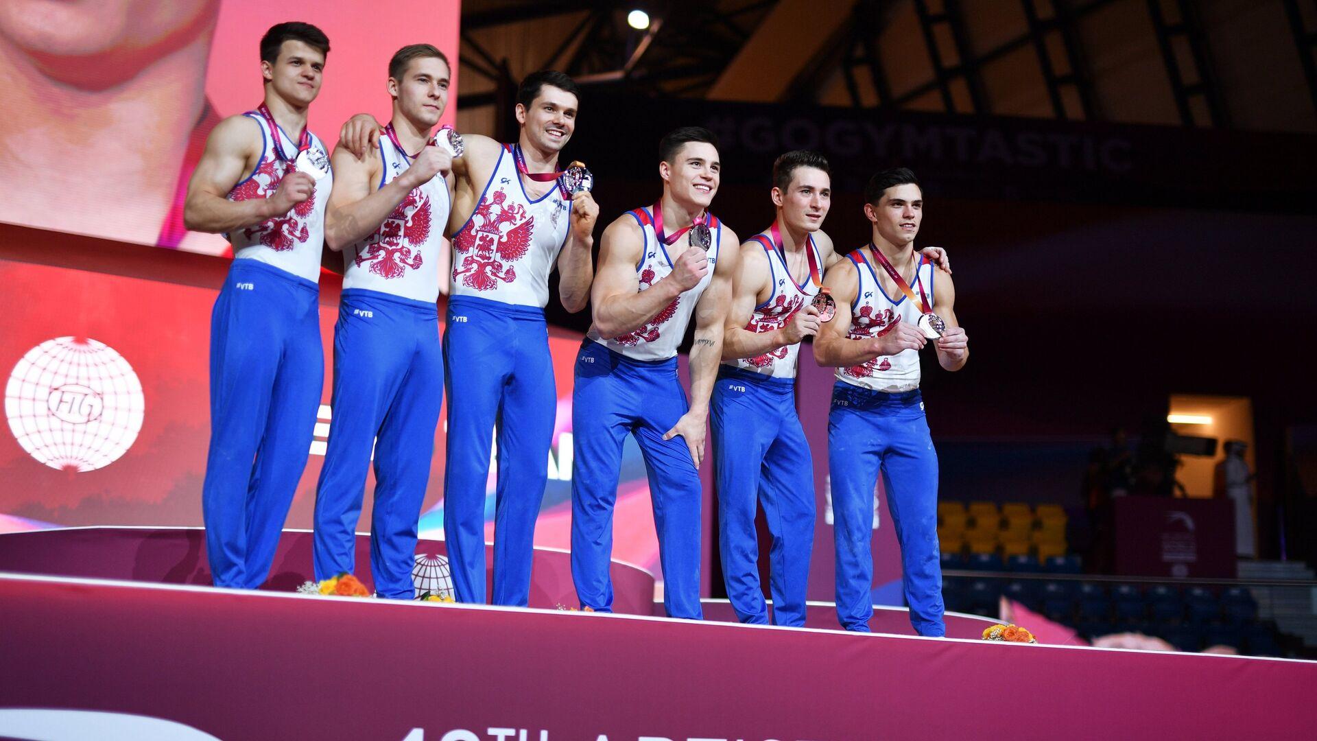 Российские гимнасты - РИА Новости, 1920, 11.09.2020