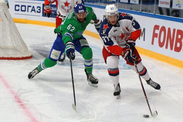 Хоккей. КХЛ. Матч Салават Юлаев - ЦСКА