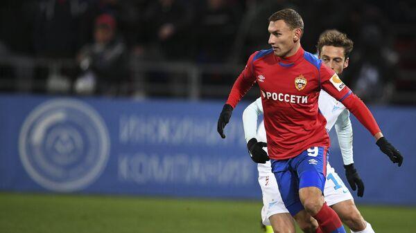 Чалов опередил Акинфеева в споре за звание лучшего игрока ЦСКА в декабре