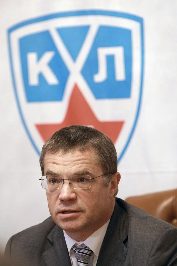 Александр Медведев, президент КХЛ