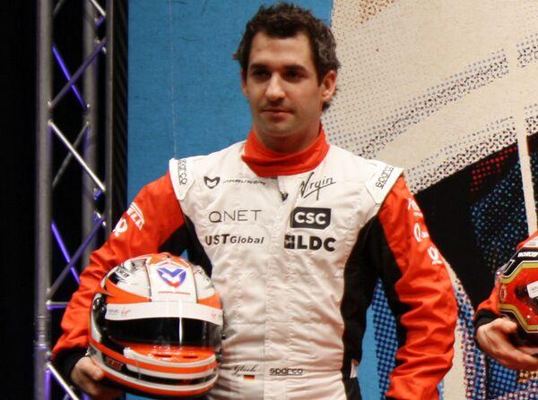 Пилот команды Marussia Virgin Racing Тимо Глок