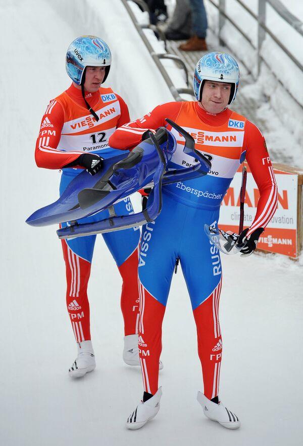 Владислав Южаков и Владимир Махнутин