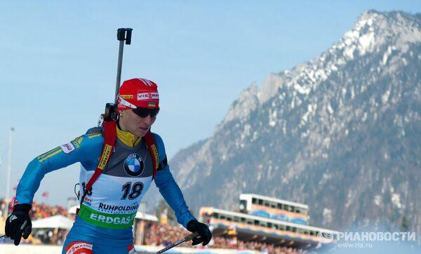 Украинская спортсменка Вита Семеренко
