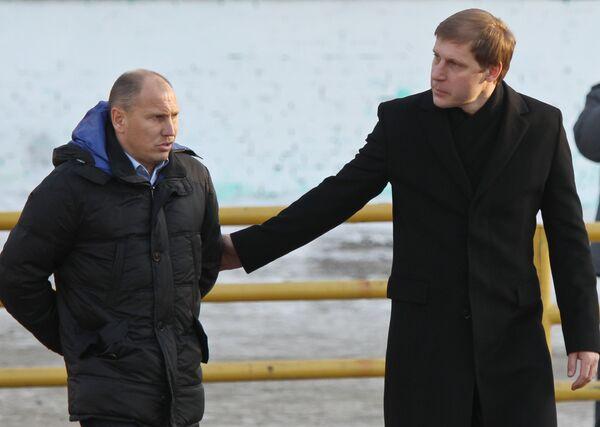 Дмитрий Черышев и Сергей Передня (слева направо)
