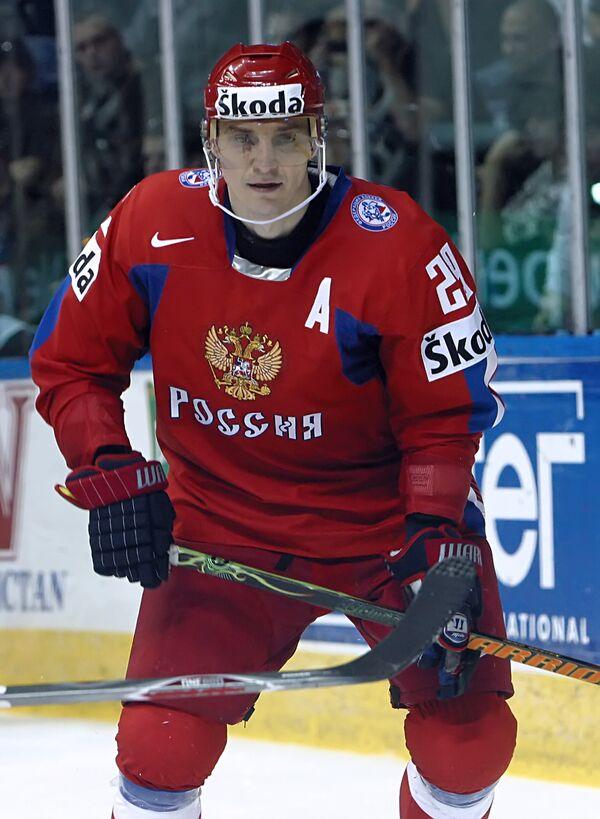Хоккеист Сергей Федоров