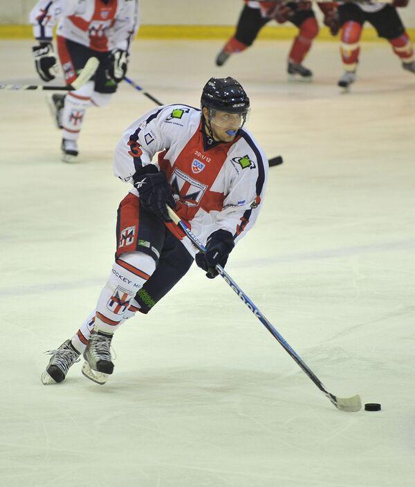 Хоккеист Милана