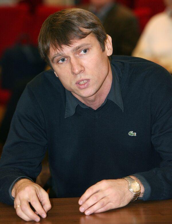 Главный тренер юношеской сборной России по футболу Андрей Талалаев