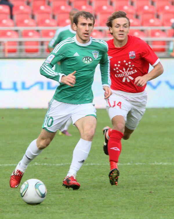 Адлан Кацаев и Даниил Гриднев (слева направо)