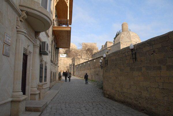 Старый город Баку. Архив
