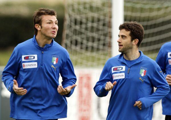 Марко Мотта (слева) и Джузеппе Росси