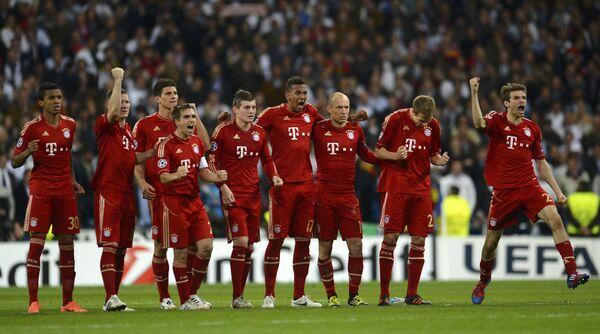 Футболисты Баварии