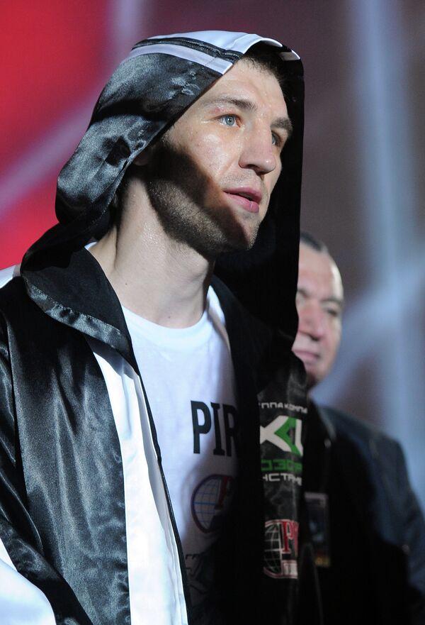 Российский боксер Дмитрий Пирог