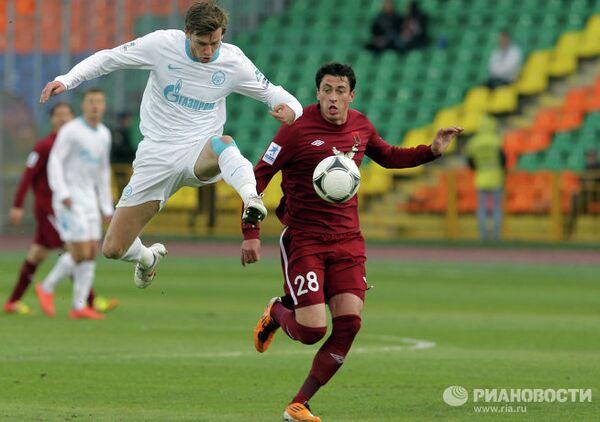 Игровой момент матча Рубин - Зенит