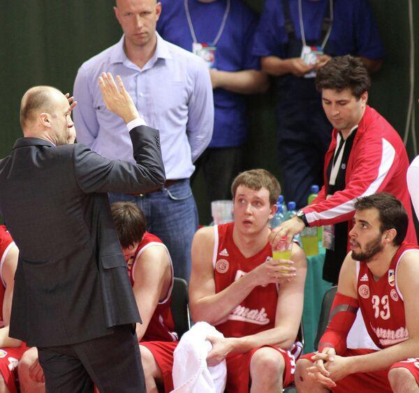 Баскетболисты питерского Спартака