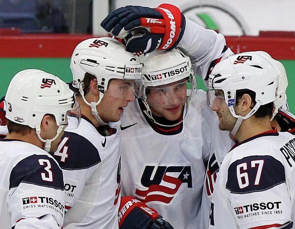 Хоккеисты США
