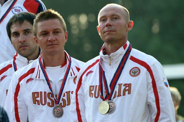Михаил Лейбо, Виталий Фокеев и Василий Мосин (слева направо)
