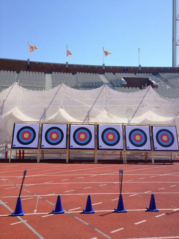 Чемпионат Европы в Амстердаме по стрельбе из лука