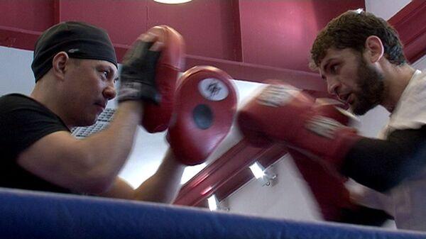 Школа бокса Кости Цзю, или Как экс-чемпион тренирует боксера Аллахвердиева
