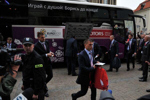 Марат Измайлов, Владимир Гранат и Андрей Аршавин (справа налево)