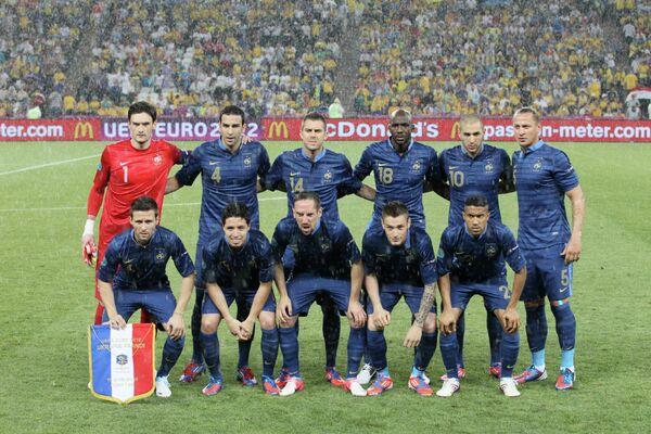 Игроки сборной Франциим