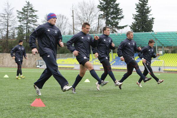 Игроки сборной России по регби