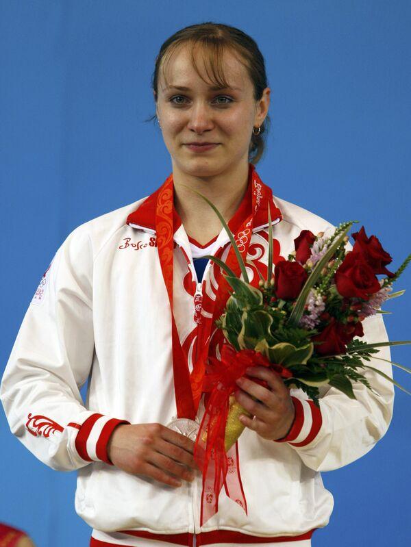 Тяжелоатлетка Марина Шаинова выиграла серебряную медаль Олимпиады