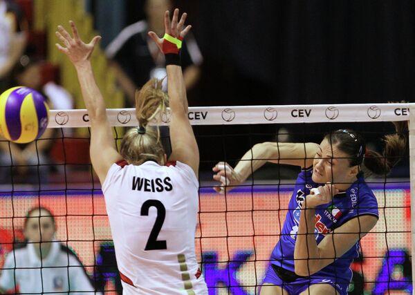 Волейбол. Чемпионат Европы. Матч Германия - Италия - 3:0