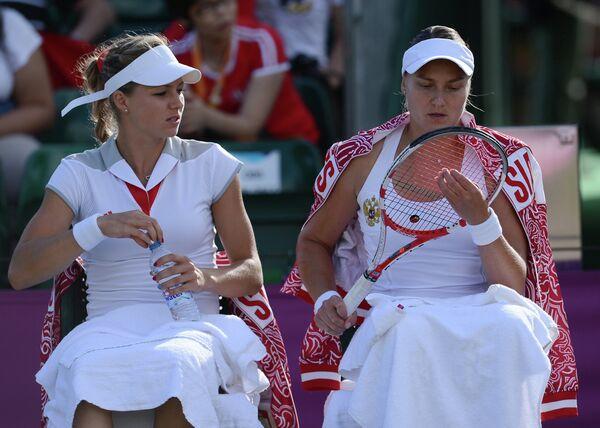 ОИ - 2012. Теннис. Женщины. Парный разряд. 1/4 финала