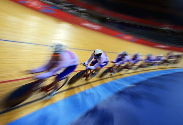 Российские велогонщики