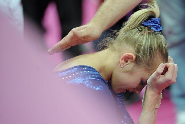 Российская гимнастка Виктория Комова