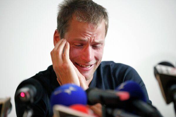 Олимпийский чемпион 2008 года по спортивной ходьбе на дистанции 50 км Алекс Швацер