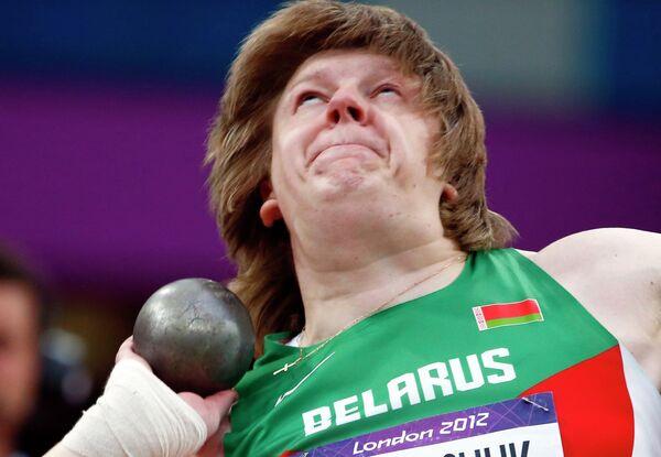 Белорусская спортсменка Надежда Остапчук