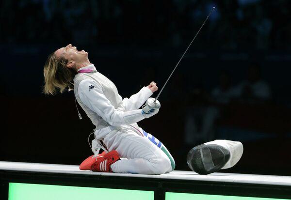 Итальянская спортсменка Валентина Веццали